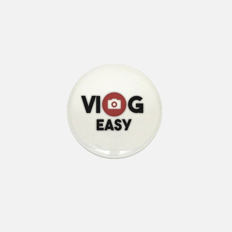 Cute Vlogger Mini Button