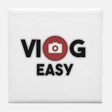 Cute Vlog Tile Coaster