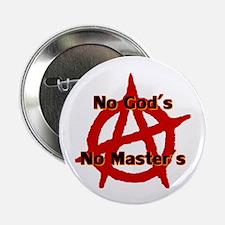 "Anarchy No Gods No Masters 2.25"" Button (10 P"