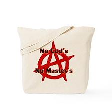 ANARCHY NO GODS NO MASTERS Tote Bag