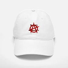ANARCHY NO GODS NO MASTERS Baseball Baseball Cap