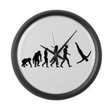 Diving Evolution Large Wall Clock