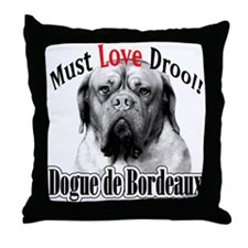 Dogue MustLove Throw Pillow