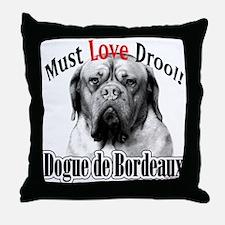 Dogue MustLove Throw Pillow