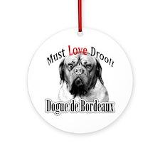 Dogue MustLove Ornament (Round)