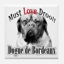 Dogue MustLove Tile Coaster