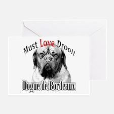 Dogue MustLove Greeting Card