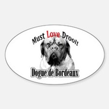 Dogue MustLove Oval Decal