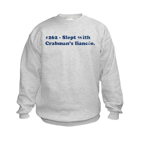Crabman's Fiancee Kids Sweatshirt
