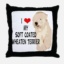 I Love My SCWT Throw Pillow