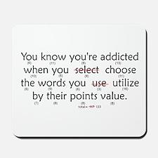 Scrabble Points Mousepad