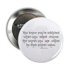 """Scrabble Points 2.25"""" Button (10 pack)"""