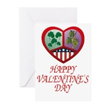 Irish Italian Valentines--Celebrate! (Pk of 10)