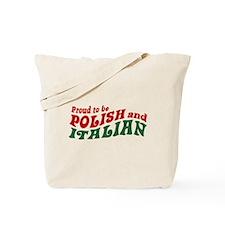 Proud Polish Italian Tote Bag