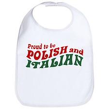Proud Polish Italian Bib