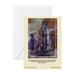 No Room-Copping-Greeting Card