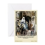 No Room-Tissot-Greeting Card