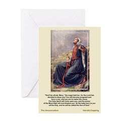 The Annunciation-Copping-Greeting Card