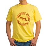 Candy Inspector Yellow T-Shirt