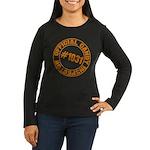 Candy Inspector Women's Long Sleeve Dark T-Shirt