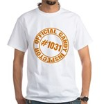 Candy Inspector White T-Shirt