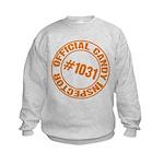 Candy Inspector Kids Sweatshirt