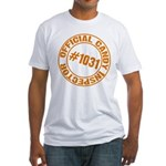 Candy Inspector Fitted T-Shirt