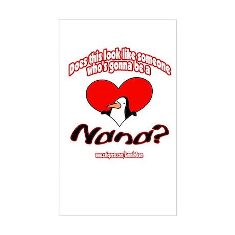 TOO YOUNG NANA Rectangle Sticker