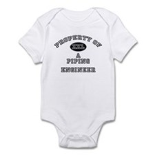 Property of a Piping Engineer Infant Bodysuit