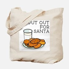 I PUT OUT FOR SANTA Tote Bag