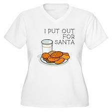 I PUT OUT FOR SANTA Plus Size T-Shirt