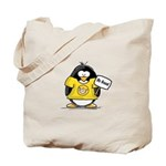 Do Good Penguin Tote Bag
