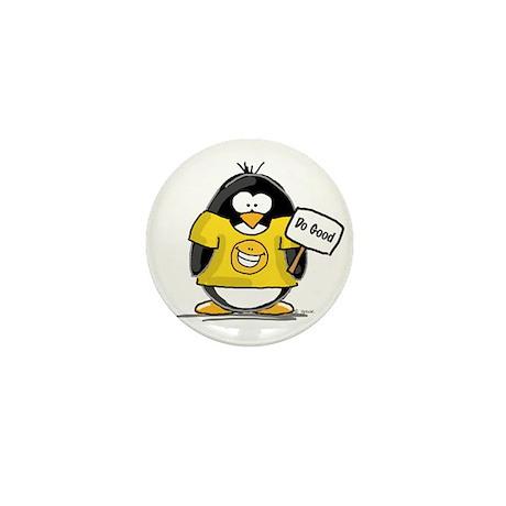 Do Good Penguin Mini Button