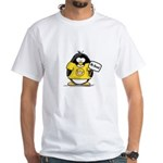 Do Good Penguin White T-Shirt