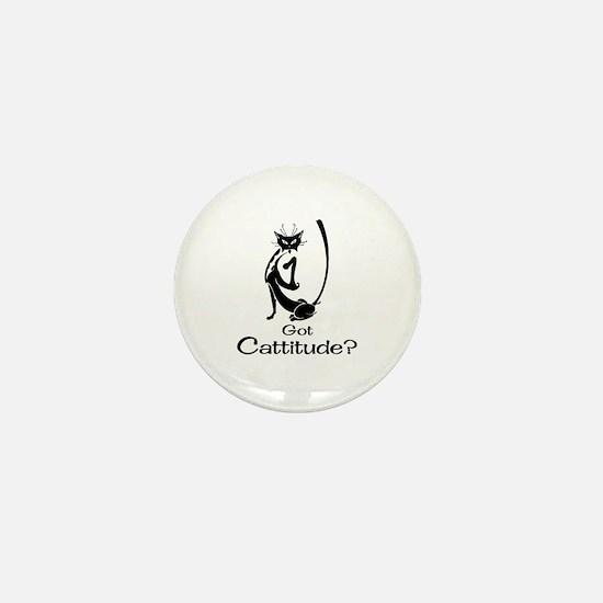 Got Cattitude? Mini Button