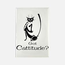 Got Cattitude? Rectangle Magnet
