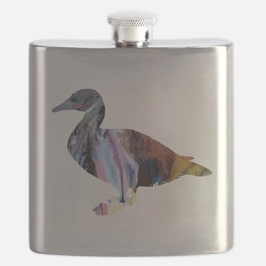 Cool Kids art Flask