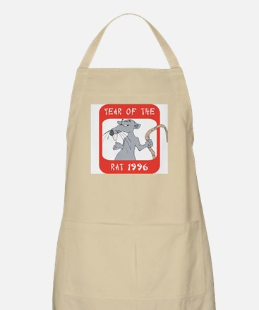 Year of The Rat 1996 BBQ Apron