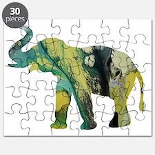 Cute Indian elephants Puzzle