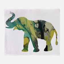 Cute Elephant pictures Throw Blanket