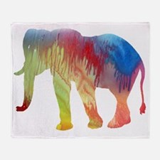 Cool Elephant pictures Throw Blanket