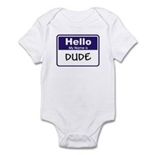 Dude Infant Bodysuit