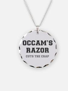 OCCAMS RAZOR - CUTS THE CRAP Necklace