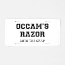 OCCAMS RAZOR - CUTS THE CRA Aluminum License Plate