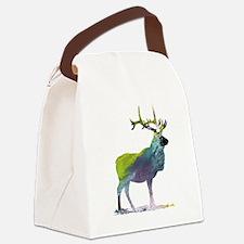 Moose art Canvas Lunch Bag