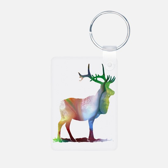 Moose for women Keychains