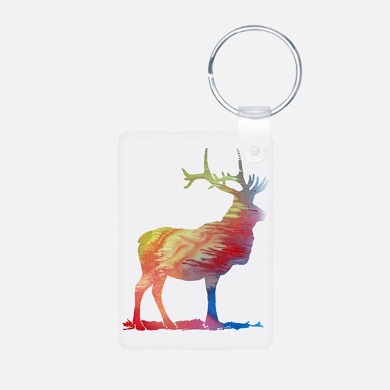 Funny Moose for women Keychains