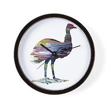 Emu Wall Clock