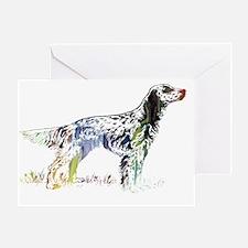 Cute Dog silhouette Greeting Card