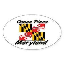 Ocean Pines Maryland Oval Decal